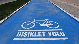 Bisiklet yollarına yeşil ışık