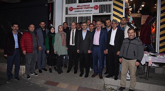 Çayırova'da Cumhur İttifakı devam ediyor