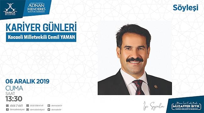 Cemil Yaman, Darıca'da gençlerle buluşacak