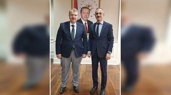 Çiftçi, başkentte Çayırova'yı konuştu