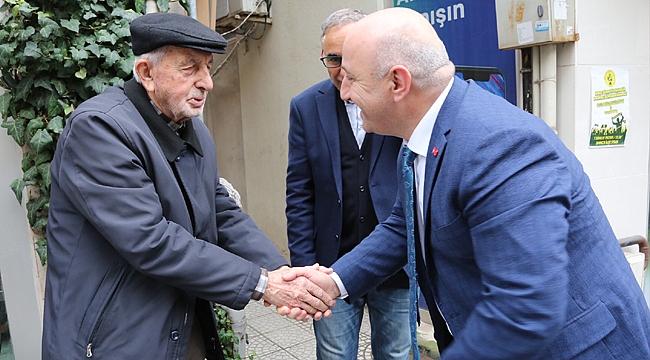 Darıca'nın sokaklarında bir başkan