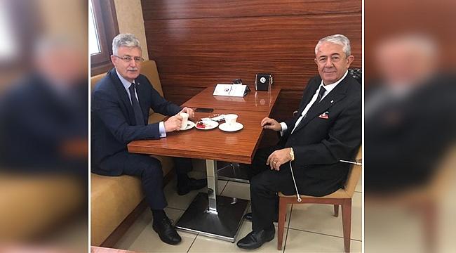 Ellibeş ve Sarıbay kent siyaseti için buluştu