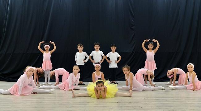 Geleceğin balerinleri Kocaeli'de yetişiyor
