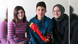 GTÜ'lü öğrenciler, Mehmet'in hayallerine dokundu