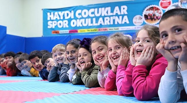 Kocaeli'ndeki çocuklar jimnastik eğitimi alacak