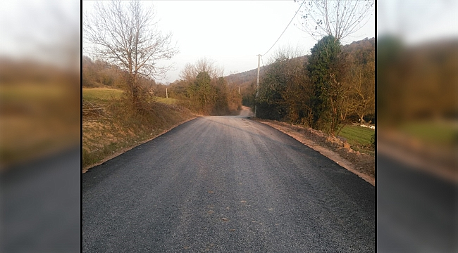 Kocaeli'nin köy yolları bakımdan geçiyor