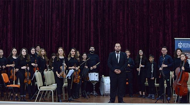 Oda Orkestrası konsere hazırlanıyor