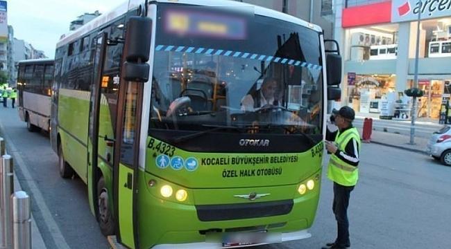Özel halk otobüslerinde 1 Kasım oldu 15 Aralık