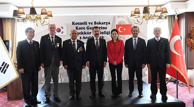 Vali Aksoy, Kore Gazilerini yalnız bırakmadı