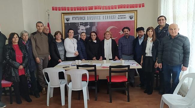 ADD Gebze, Nilgün Aydın'la devam ediyor