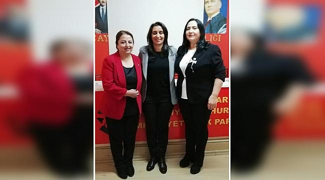 CHP Çayırova'ya yeni kadın kolları başkanı