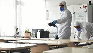 Koronavirüse karşı eş zamanlı hijyen çalışması