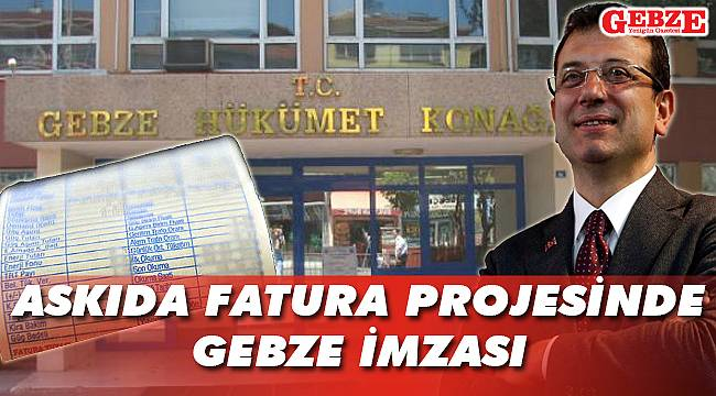 Askıda Fatura'nın patenti Gebze'ye ait