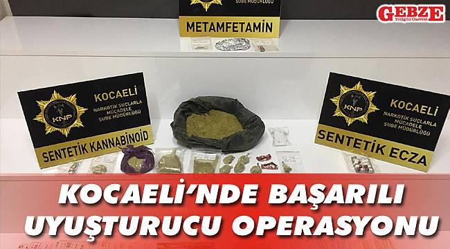 Kocaeli'nde başarılı uyuşturucu operasyonu