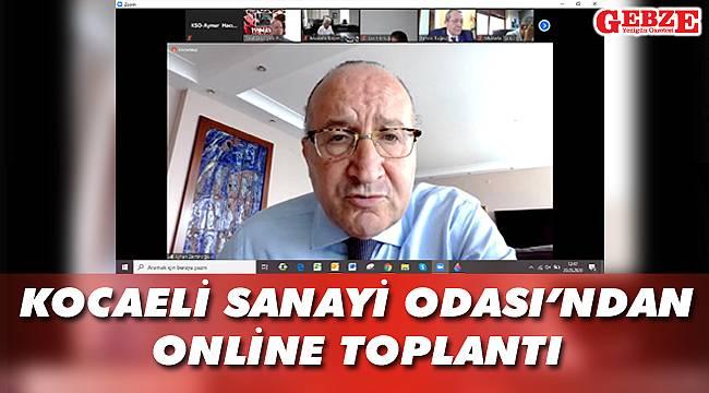 Kocaeli Sanayi Odası'ndan online toplantı