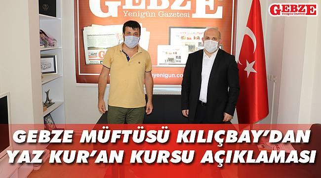 Kılıçbay'dan gazetemize nezaket ziyareti