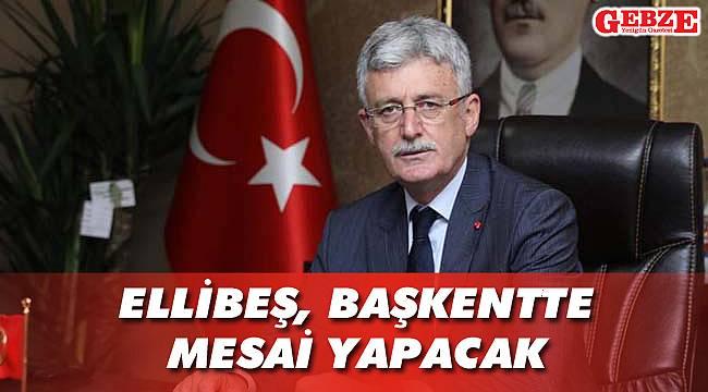 Mehmet Ellibeş, Ankara'ya gitti
