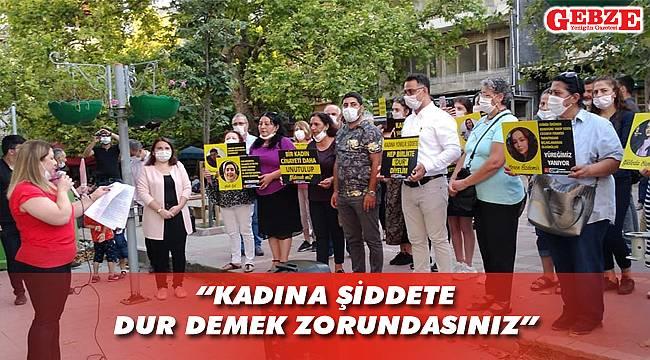 CHP Darıca'dan kadına şiddete karşı açıklama