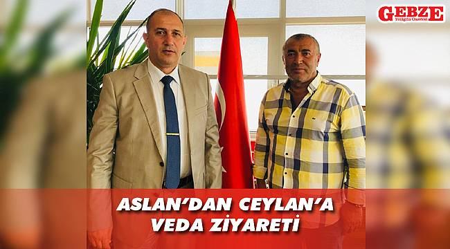 Albay Aslan, Adem Ceylan'la bir araya geldi