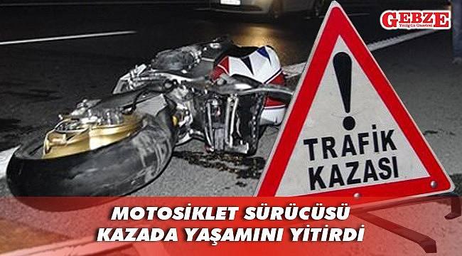 Gebze'de feci kaza can aldı