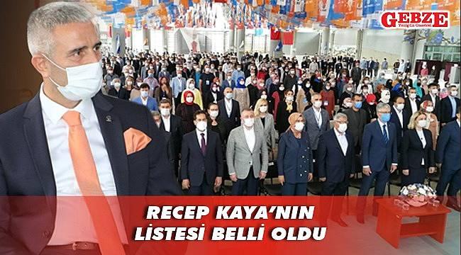 İşte AK Gebze'nin yeni yönetimi