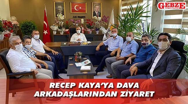 AK Partili Kaya'ya arkadaş ziyareti