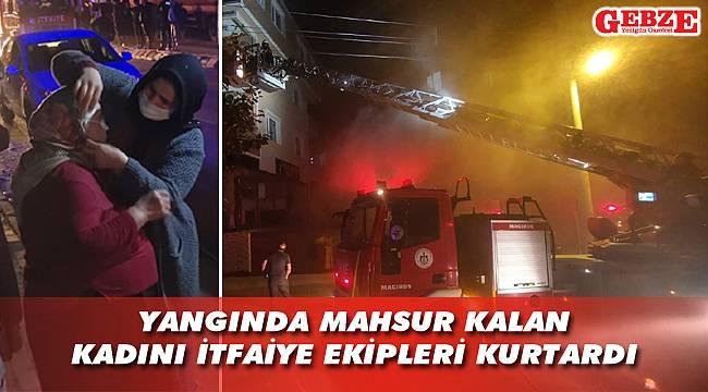 Arapçeşme'de mobilya atölyesi yandı