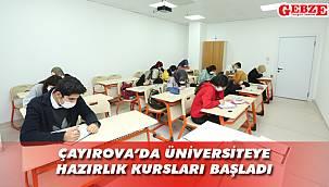 Çayırovalı gençler üniversiteye hazırlanıyor
