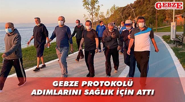 Darıca'dan Eskihisar'a sağlık için yürüdüler