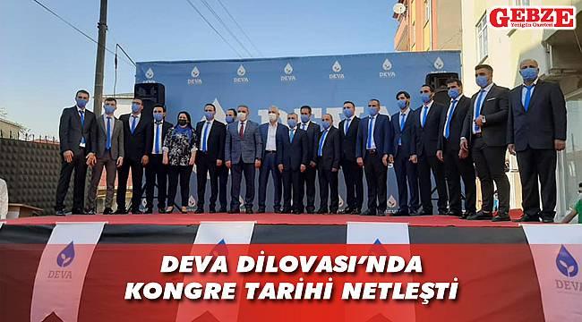 DEVA Kocaeli'nde kongreler başlıyor