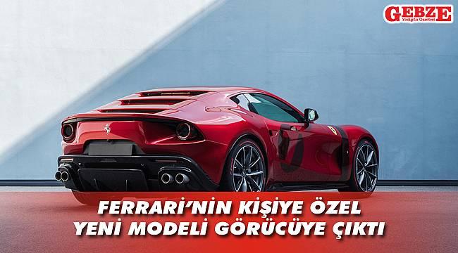 Ferrari, Omologata'yı tanıttı