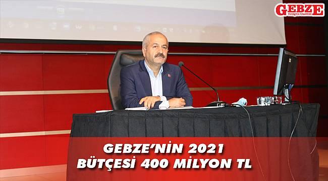 Gebze Belediyesi'nin 2021 bütçesi belli oldu