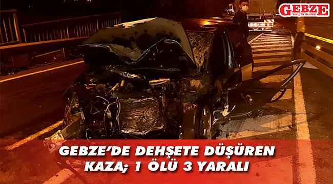Gebze'de zincirleme kaza; 1 ölü