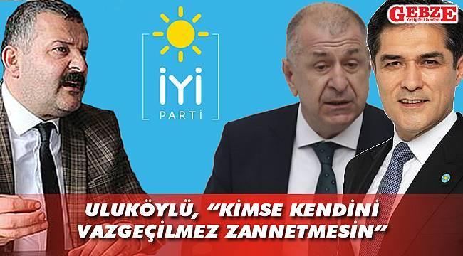 İYİ Partili Uluköylü'den 'Rest'