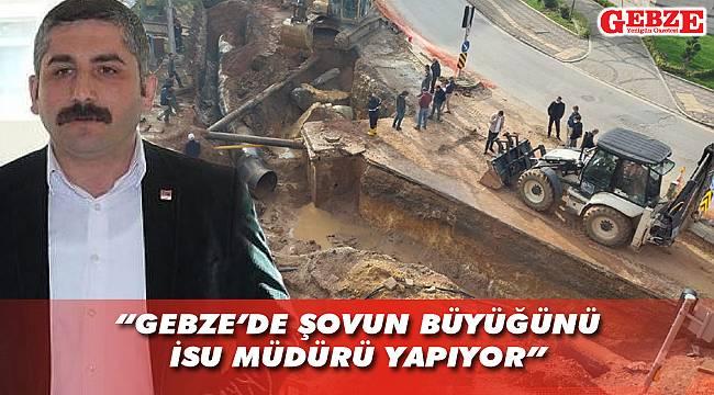 Orhan'dan İSU'ya ve Büyükşehir'e sert eleştiri