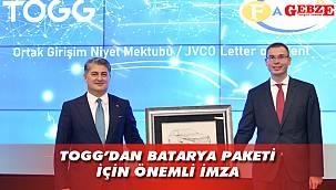 TOGG'dan Farasis'le işbirliği imzası