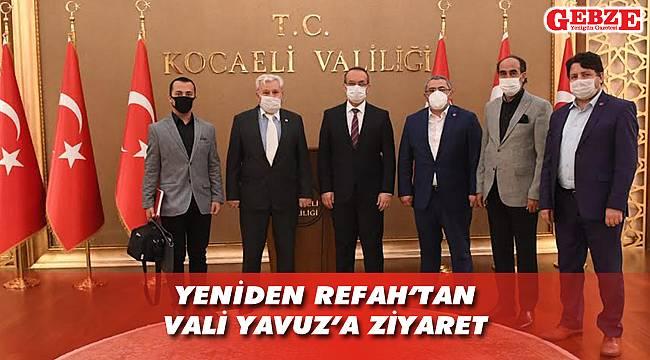Yeniden Refah, Vali Yavuz'a gitti