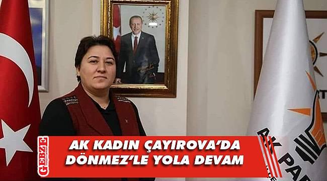 AK Kadın Çayırova'da aday belli oldu