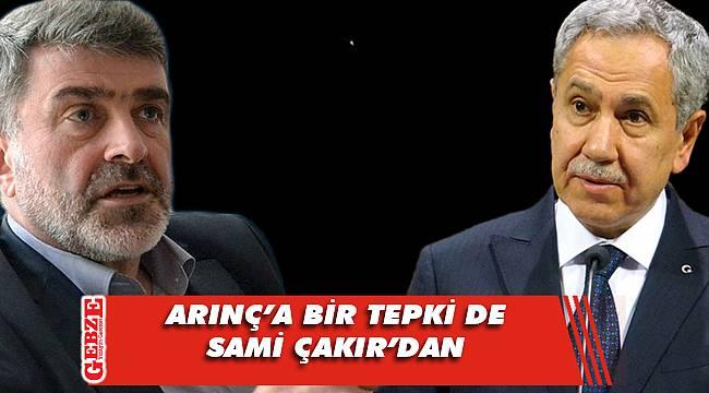 AK Partili vekilden Arınç açıklaması