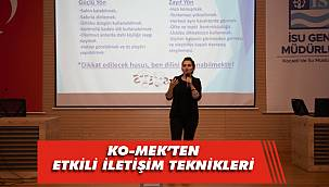 KO-MEK'ten İSU'ya etkili iletişim semineri