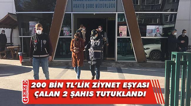 Kocaeli'de gerçekleşen hırsızlığa 2 tutuklama