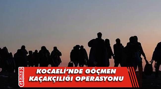 Kocaeli'nde 16 sığınmacı yakalandı