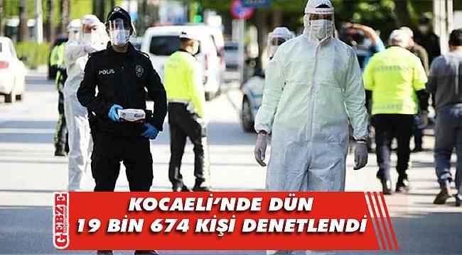 Kocaeli'nde 279 kişiye para cezası