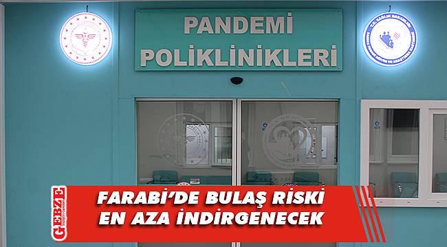 Farabi'ye yeni pandemi poliklinikleri