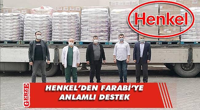 Henkel, sağlık çalışanlarını unutmadı