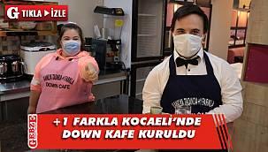 Kocaeli'ndeki Down Kafe hizmet için gün sayıyor
