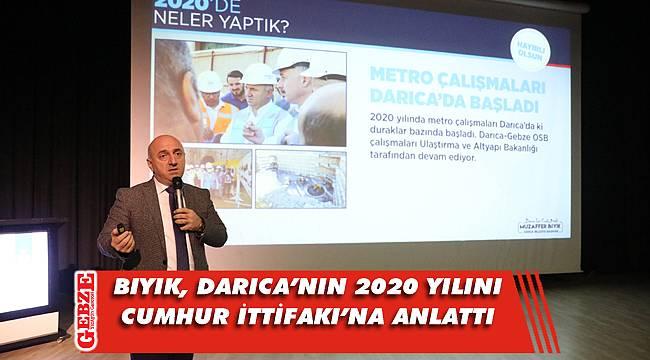 Bıyık, Cumhur İttifakı'na Darıca'daki çalışmaları anlattı