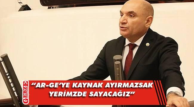 CHP'li Tarhan, meclis kürsüsünden konuştu