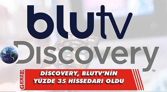 Discovery, BluTV'nin yüzde 35 hissedarı oldu