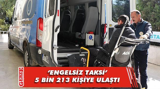 Engelsiz taksi, engelli vatandaşların ulaşım aracı oldu